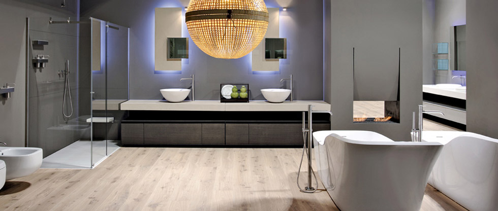 Bagno moderno for Bagno padronale moderno