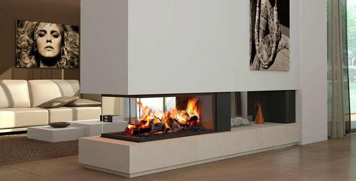 Chimeneas para el hogar - Fotos chimeneas modernas ...