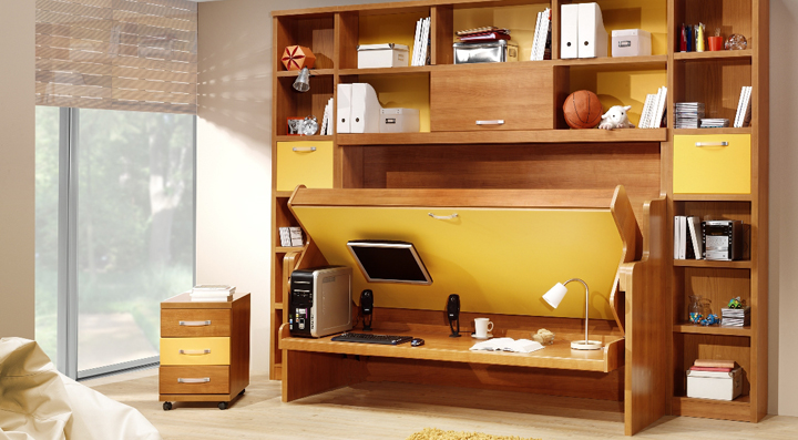 Soluciones para espacios peque os Mobiliario para espacios reducidos