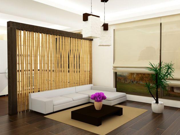 Ideas decorativas con bamb - Cortinas y visillos hipercor ...