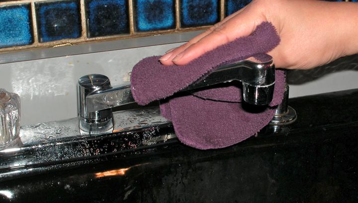 limpiar grifo