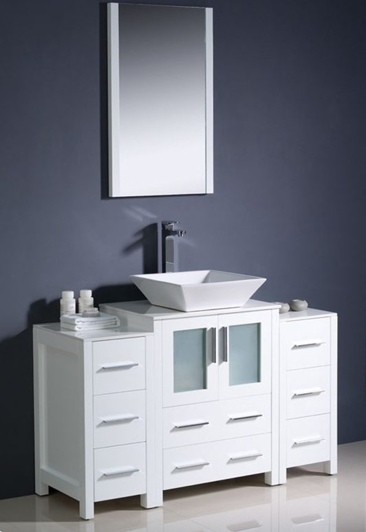 Fotos de ba os modernos for Muebles de bano minimalistas