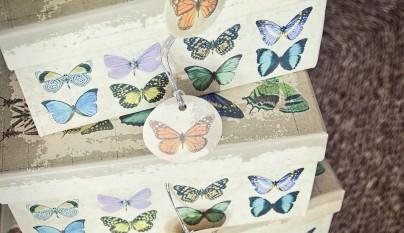 muy mucho mariposas cajas cuadradas 2
