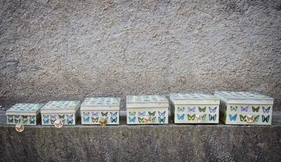 muy mucho mariposas cajas cuadradas 3