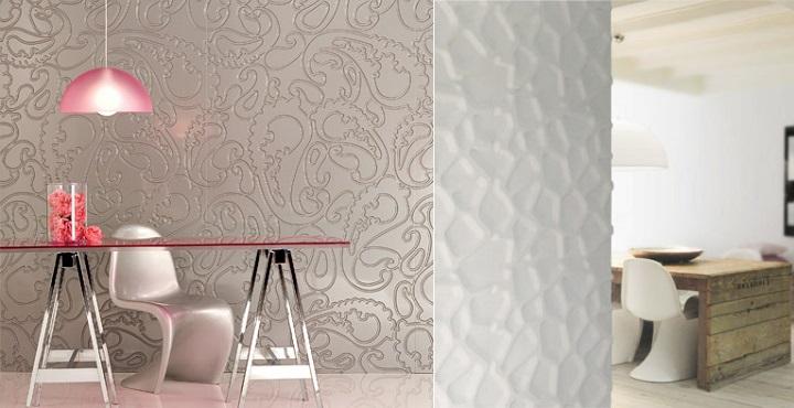 Comedores decorados con paneles - Paneles decorativos ikea ...