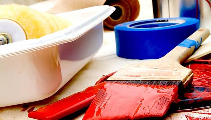 herramientas de pintura