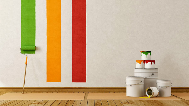 T cnicas para decorar paredes for Paredes pintadas originales