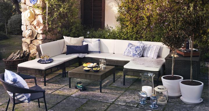 sofas de jardin maisons du monde