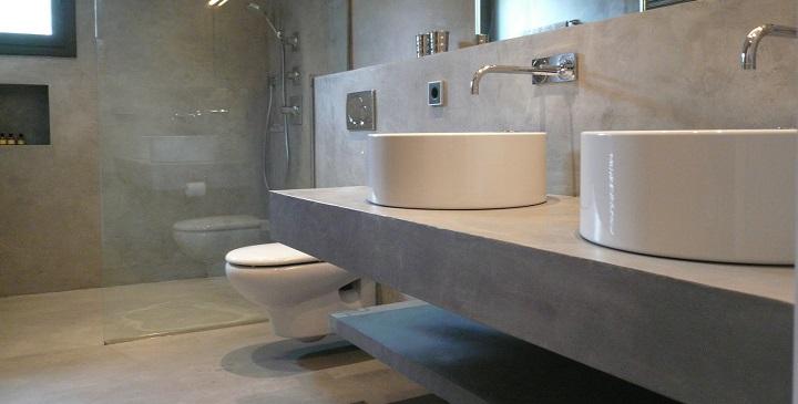 Usos del microcemento en decoraci n - Microcemento bagno ...