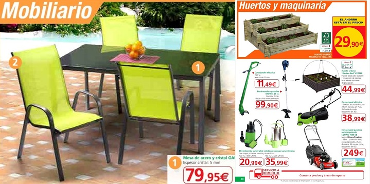 Alcampo cat logo de jard n 2014 for Carpas jardin alcampo