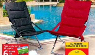Sillas camping alcampo idea de la imagen de inicio for Silla playa decathlon