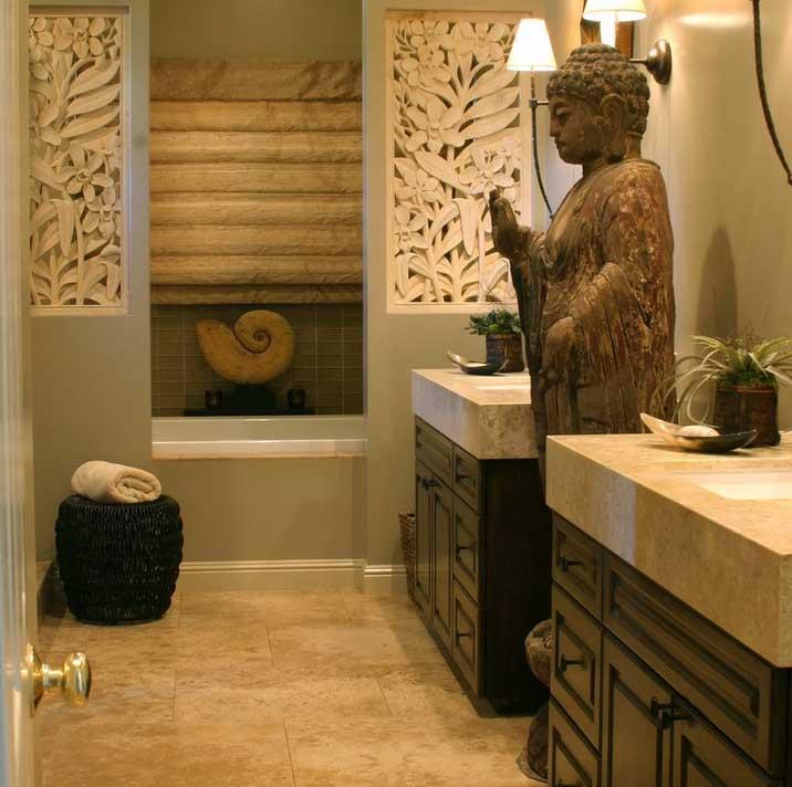 Baño Estilo Oriental:Casas estilo oriental21