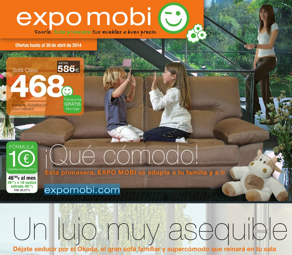 Catalogo expomobi primavera 2014 for Expomobi muebles