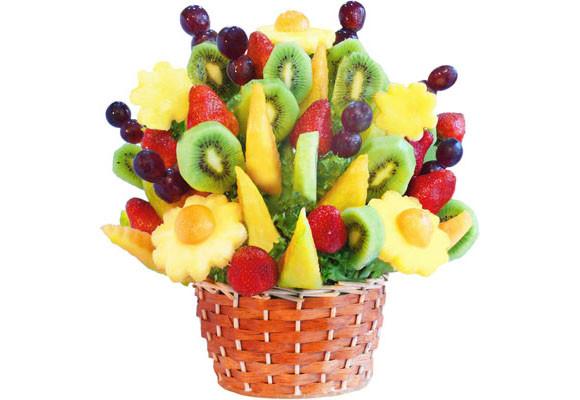 Decoraci n con frutas - Adornos de frutas para mesas ...