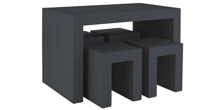 Mesas y sillas de jard n habitat 2014 for Mesas y sillas de plastico para jardin