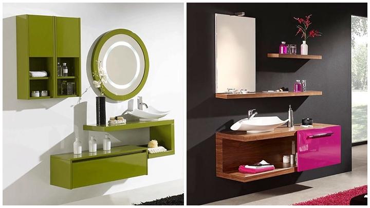 Baños Modernos Acabados:Muebles de baño modernos
