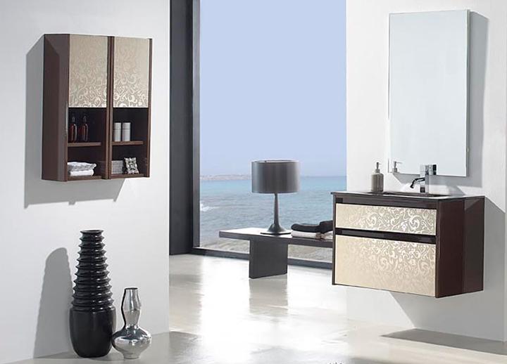 Muebles de ba o modernos for Muebles altos de bano