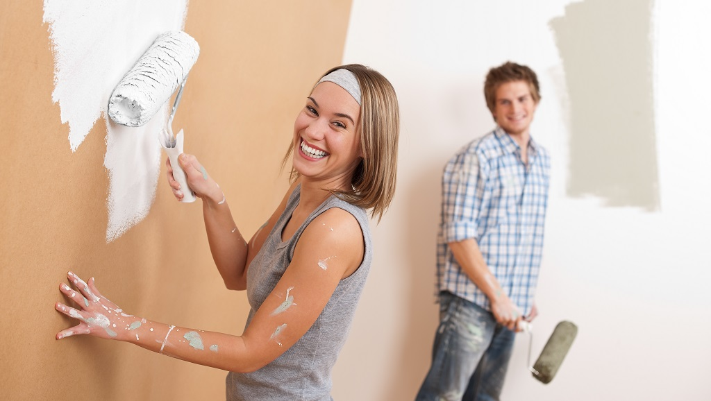 pintar una casa