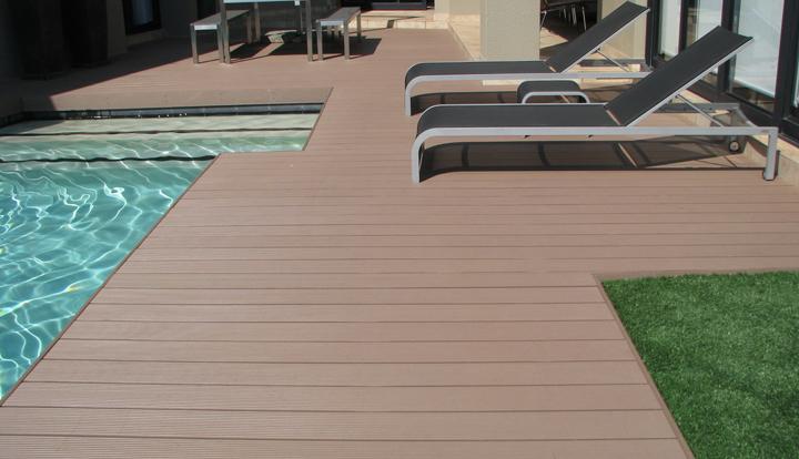Tarimas exteriores sint ticas - Tarima para terraza ...