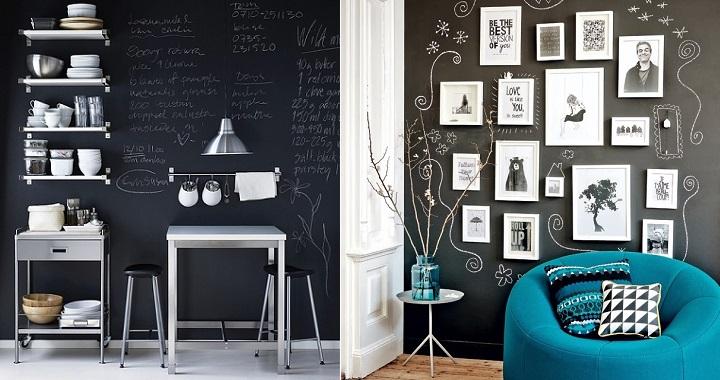 Ideas para decorar con pizarras - Pizarras para decorar ...