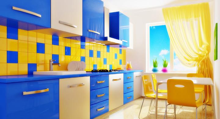 cocina de colorines