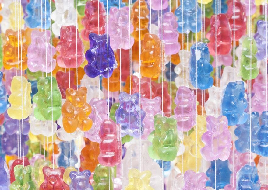 Gummy Bear Chandelier 2
