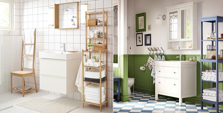 Estantes Para El Baño:Propuestas de IKEA para el baño