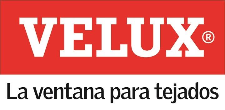 Logo VELUX con Ventanas para tejado