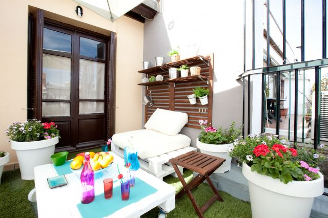 Decoraci n chill out para la terraza for Terraza chill out