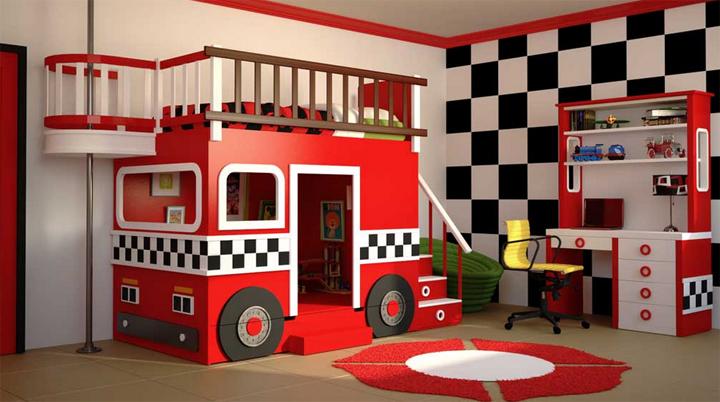 habitacion de bomberos