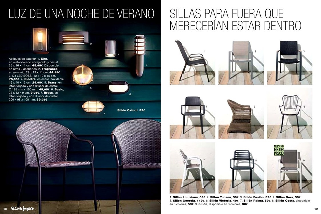 Catalogo jardin el corte ingles10 for Catalogo muebles jardin