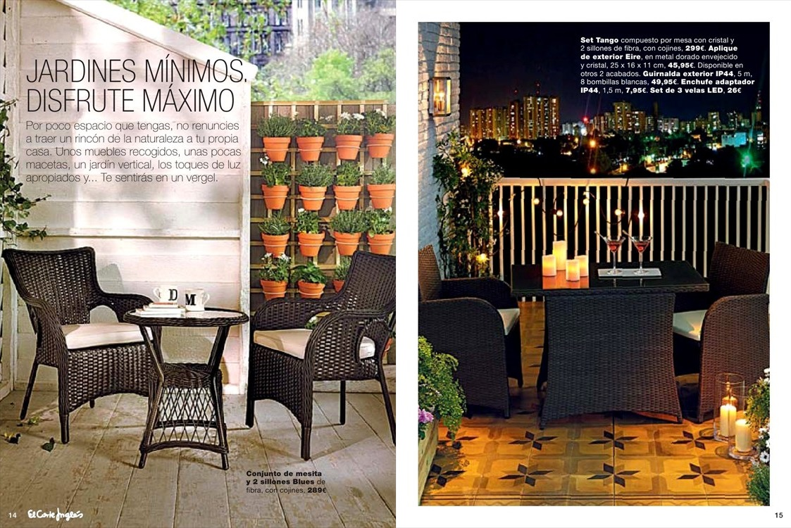 Catalogo jardin el corte ingles8 for Catalogo muebles jardin