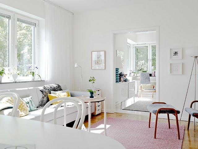 Fotos de casas de estilo n rdico for Decoracion salon estilo nordico