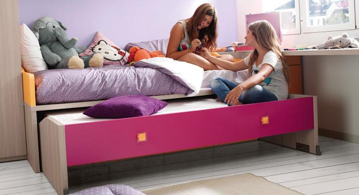 cama nido habitacion