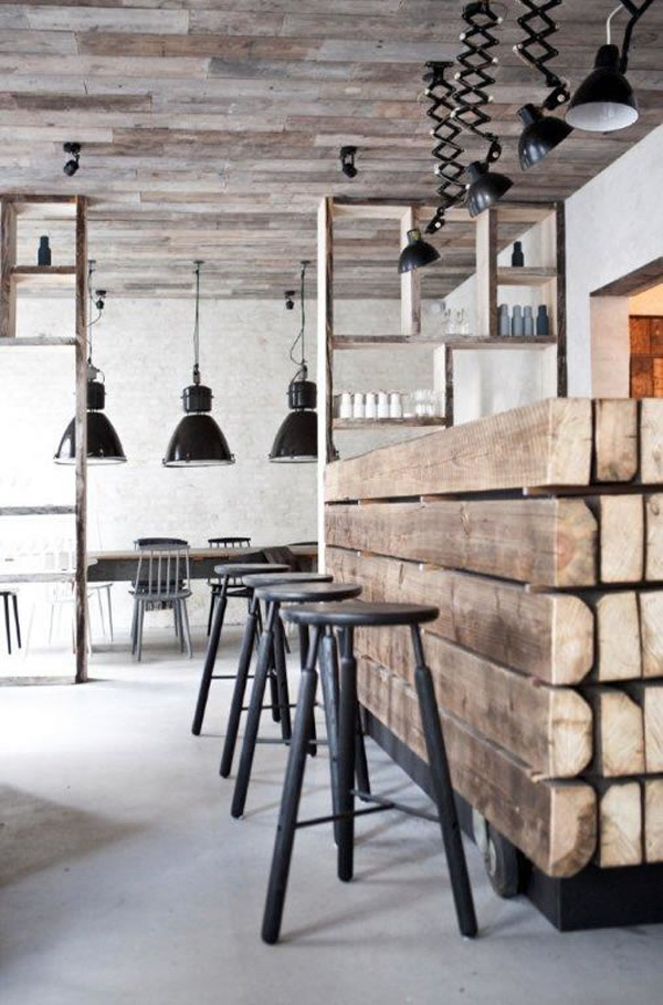Decoracion Estilo Nordico Industrial ~ interiores estilo industrial11