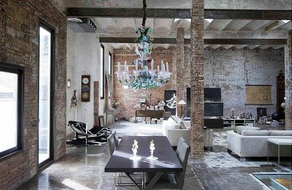 Interiores estilo industrial12 for Casas de estilo industrial