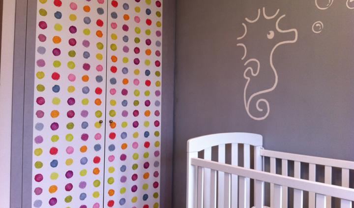puerta habitacion infantil