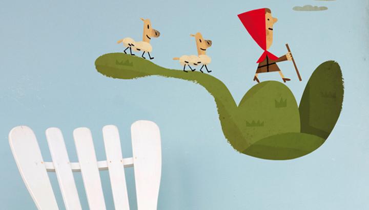 10 divertidos vinilos infantiles