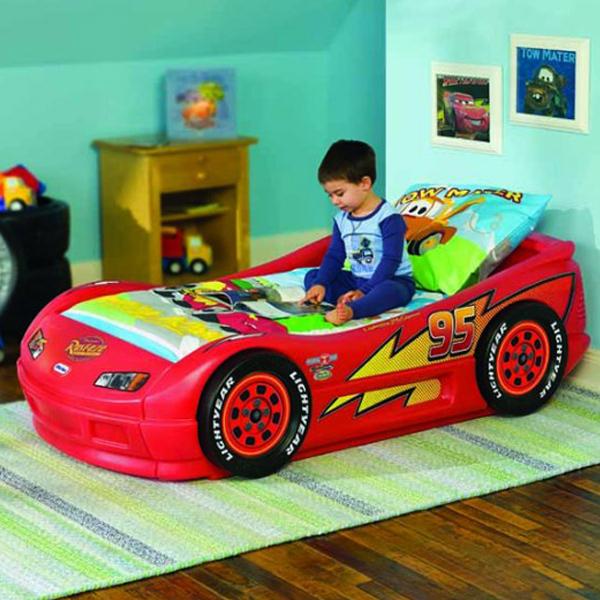 La cama coche rayo mcqueen - Camas infantiles de cars ...