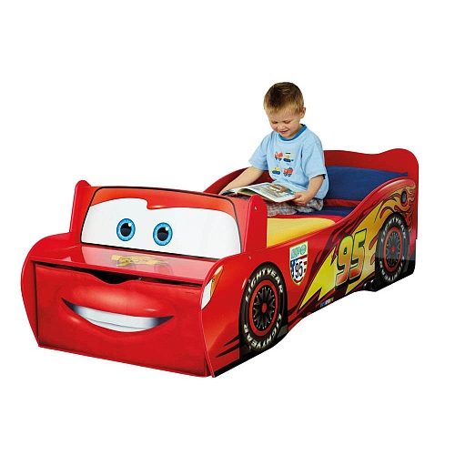 la cama coche rayo mcqueen. Black Bedroom Furniture Sets. Home Design Ideas