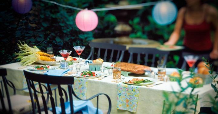 C mo decorar la terraza para una fiesta - Como decorar una terraza grande ...