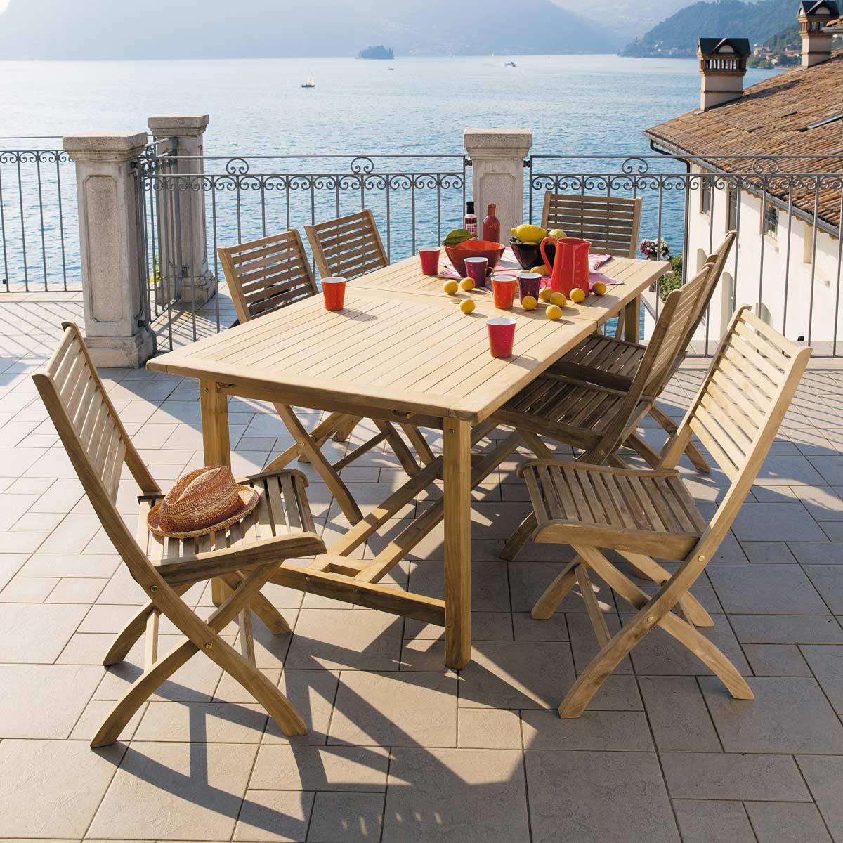 Muebles jardin maisons du monde 20143 - Tavolo esterno maison du monde ...