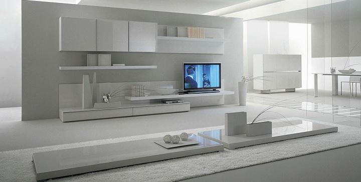 Muebles lacados - Muebles lacados en blanco brillo ...