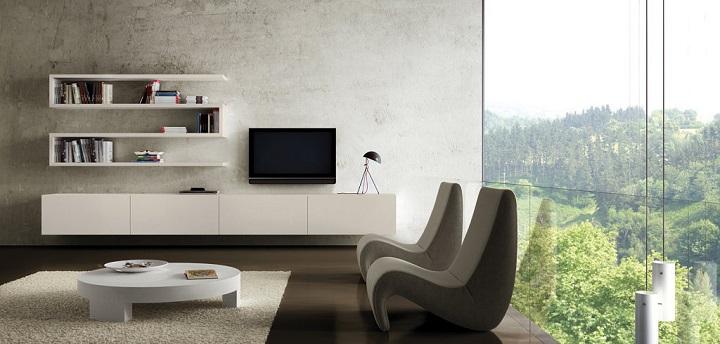 fotos de salones minimalistas