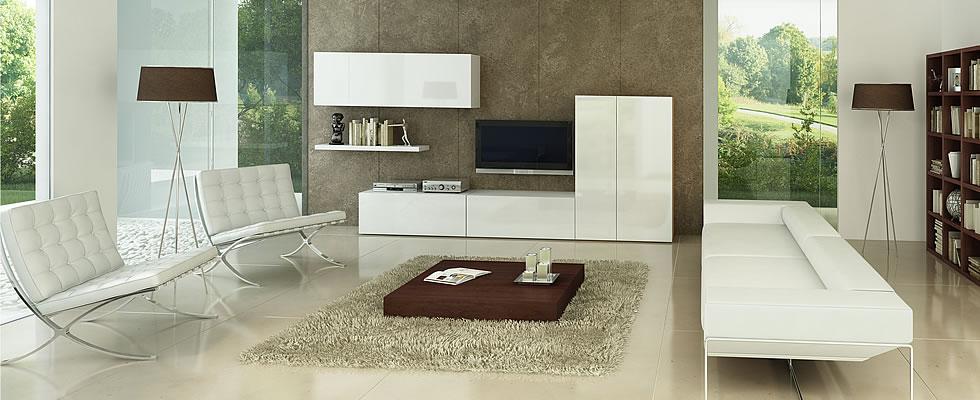 Salones minimalistas11 - Decoracion salones rectangulares ...