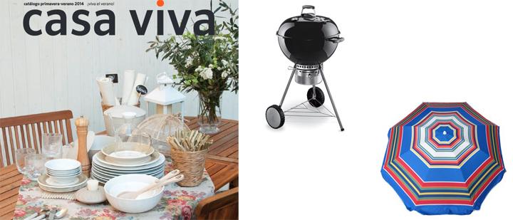 Catálogo hogar Casa Viva verano 2014
