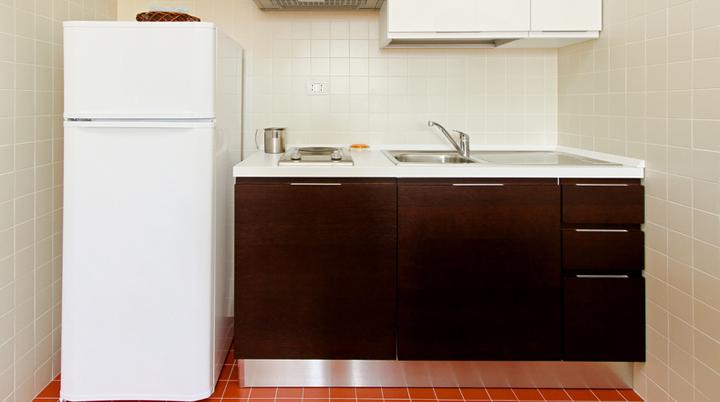 Ideas para ganar espacio en cocinas pequeñas