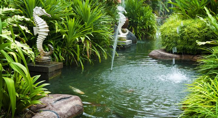 Decorar el jard n seg n el feng shui for Figuras para jardin zen