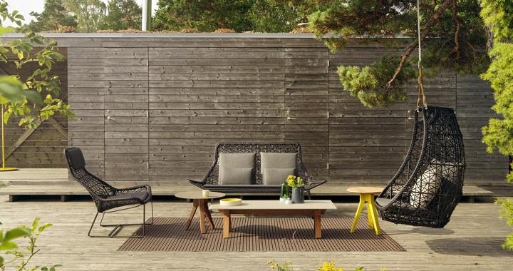 Muebles de dise o para la terraza for Muebles de exterior para terrazas