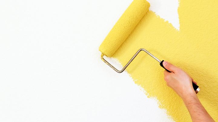 pintar la pared